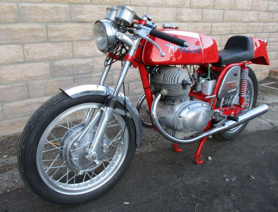 Rare Electrical Project - 1974 MV Agusta 350S Elettronica