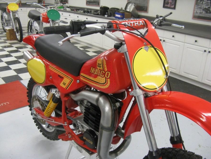 Maico 490 Mega 2 - Front
