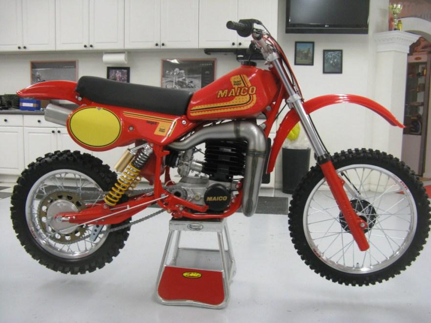 Maico 490 Mega 2 - Right Side