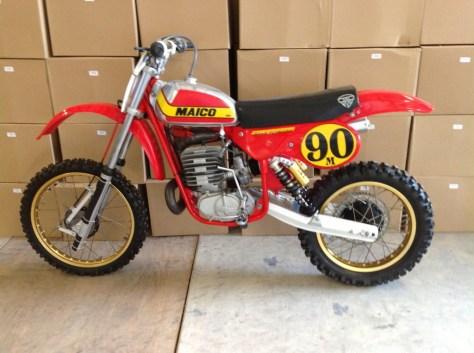 Maico 490 Mega II - Left Side