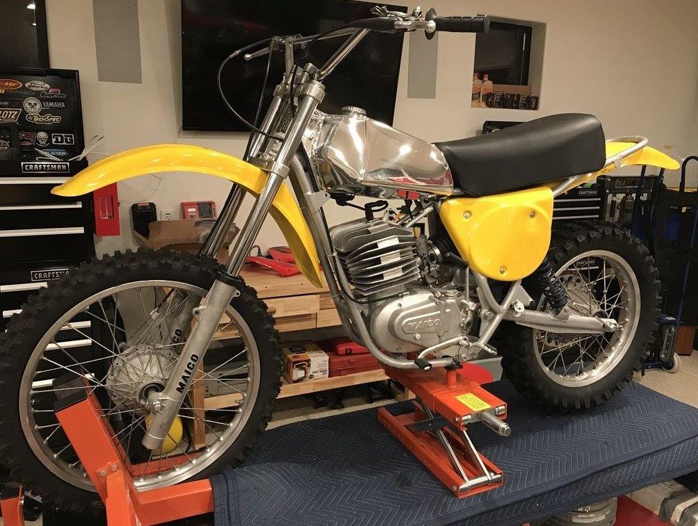 1977 Maico MC400 AW