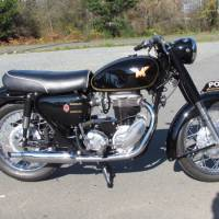 CSR? 1965 Matchless G80 Rhodesian Police