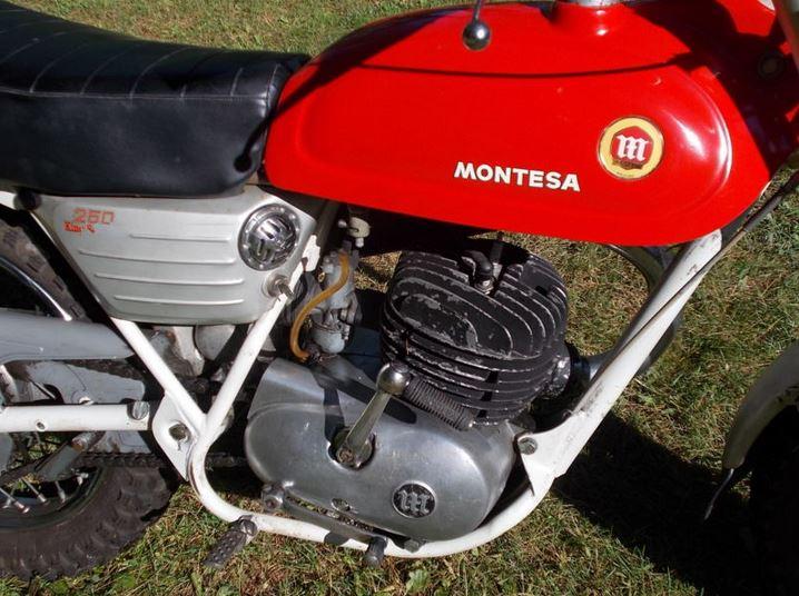 Montesa King Scorpion 250 - Engine