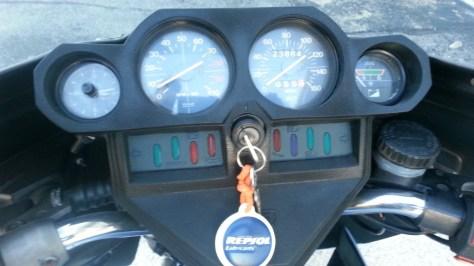 Moto Guzzi 1000SP Spada - Cockpit