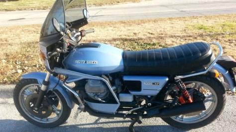Moto Guzzi 1000SP Spada - Left Side