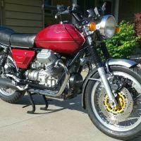 Restored - 1975 Moto Guzzi 850T