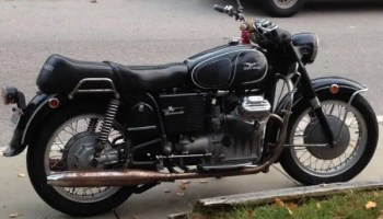 1971 moto guzzi ambassador | bike-urious