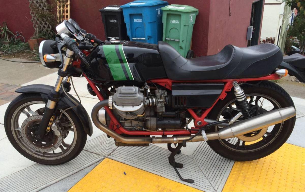 High Potential - 1978 Moto Guzzi CX100