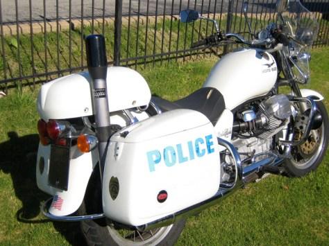 Moto Guzzi California Police - Rear Right