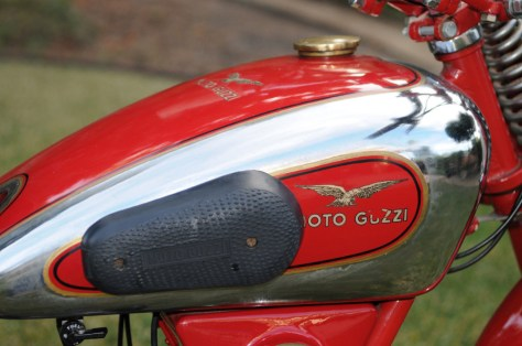 Moto Guzzi Egretta - Tank