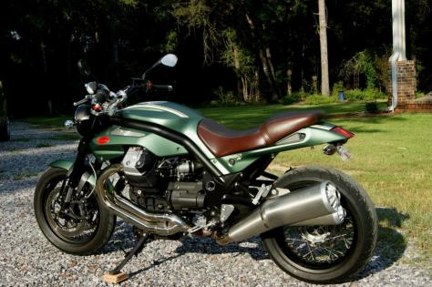 Moto Guzzi Griso SE - Left Side