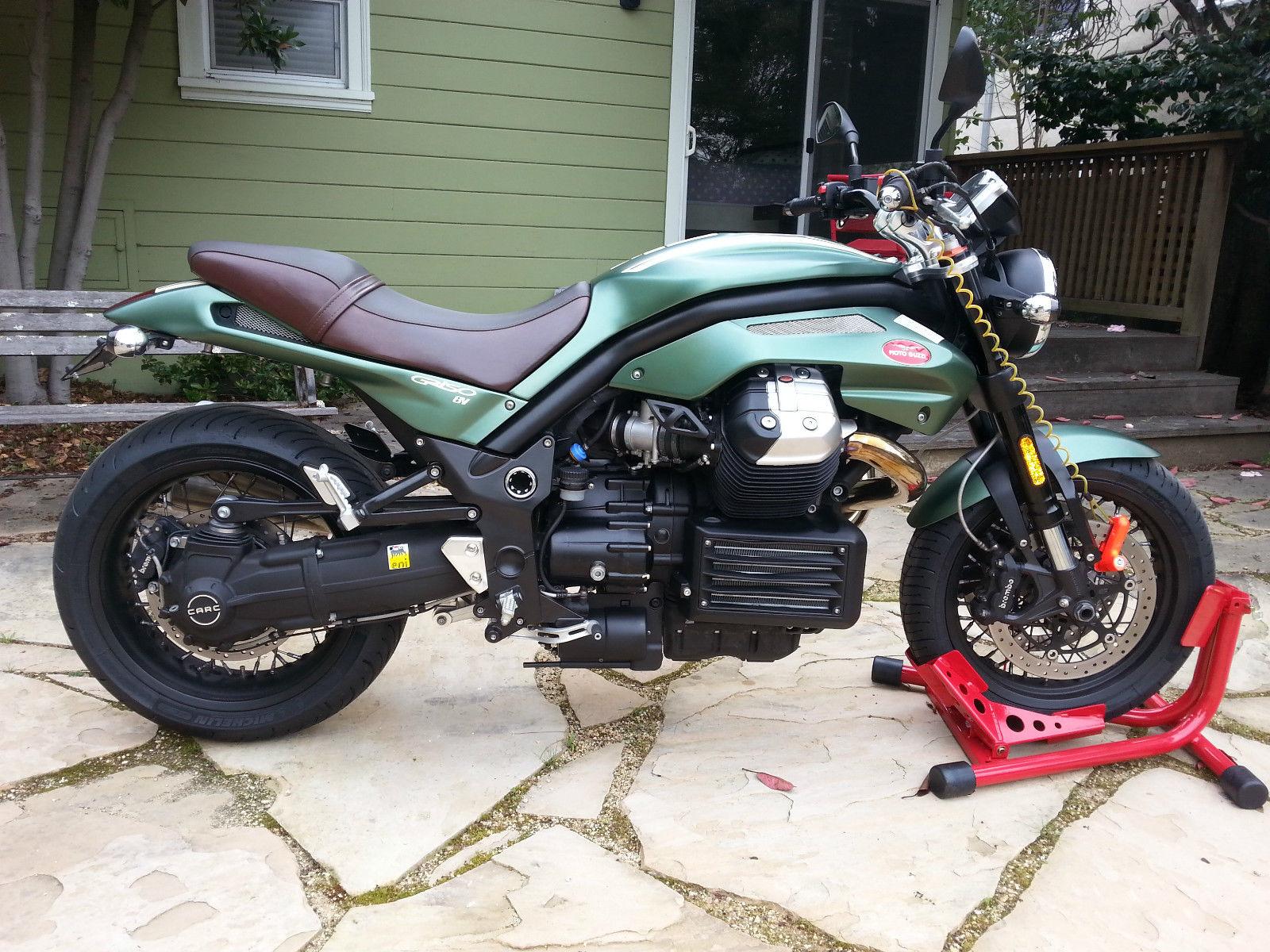 tenni green 2012 moto guzzi griso se bike urious. Black Bedroom Furniture Sets. Home Design Ideas