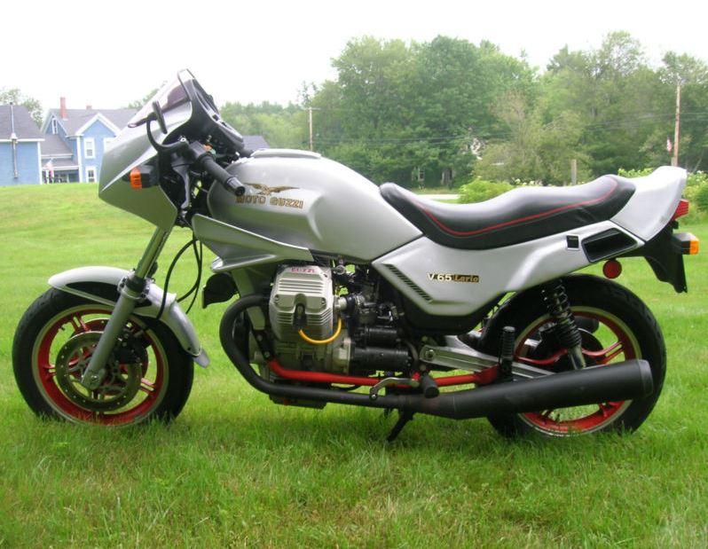 Moto Guzzi Lario V65 - Left Side