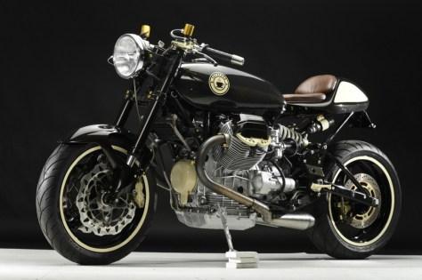 Moto Guzzi LeMans Cafe Racer - Front Left