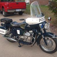 Police Replica - 1967 Moto Guzzi V7
