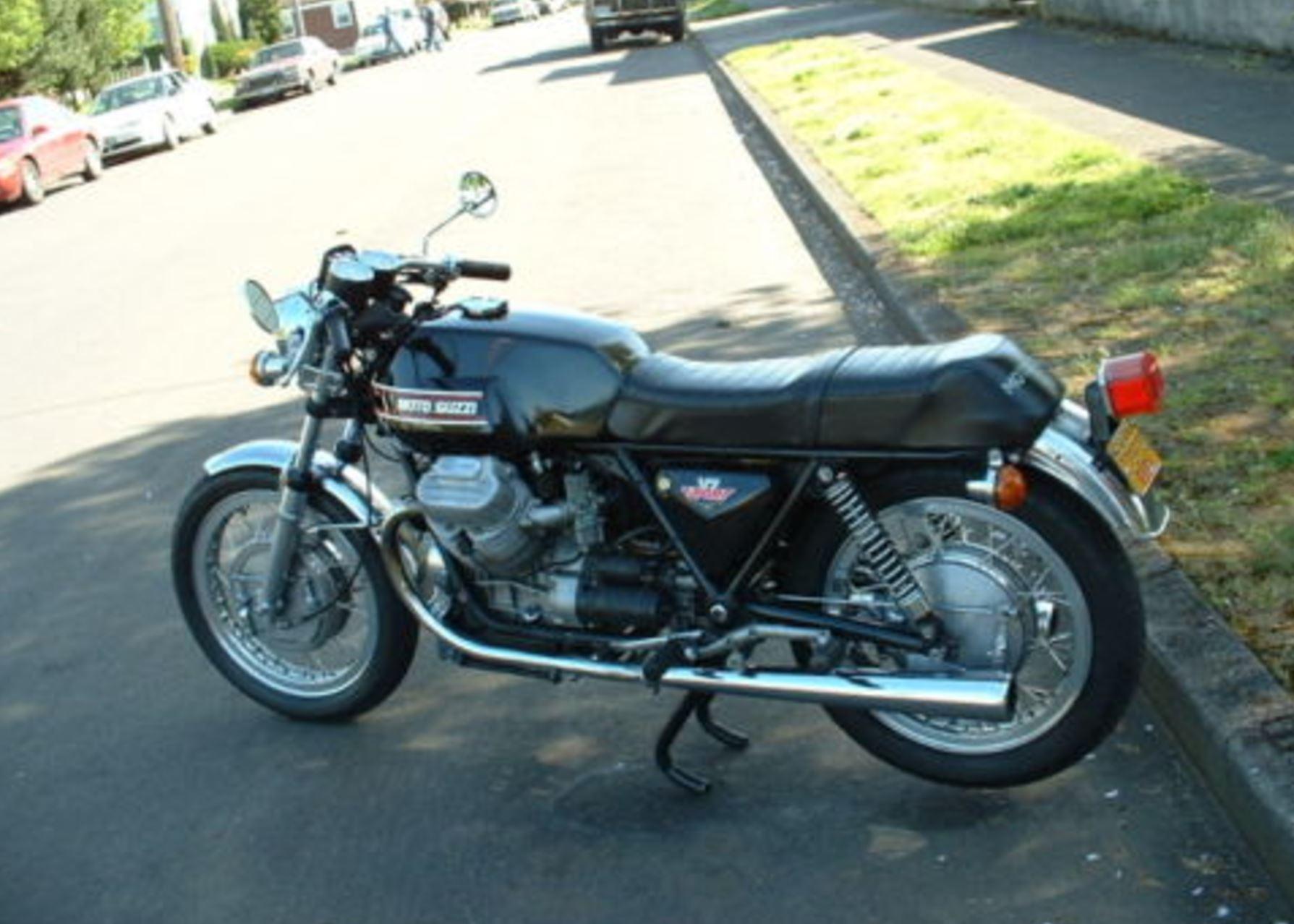 """Sophia"" – 1974 Moto Guzzi V7 Sport – Sophia sold for  10 8a90ae6b2"