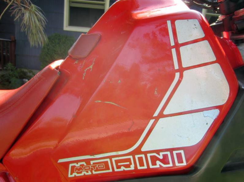 Moto Morini Camel - Tank