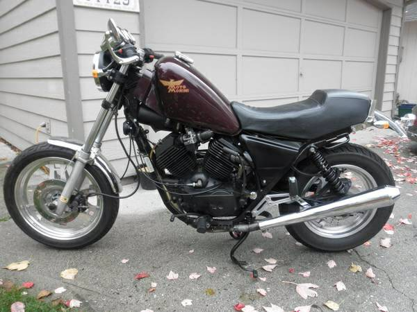 Moto Morini Excalibur Custom - Left Side