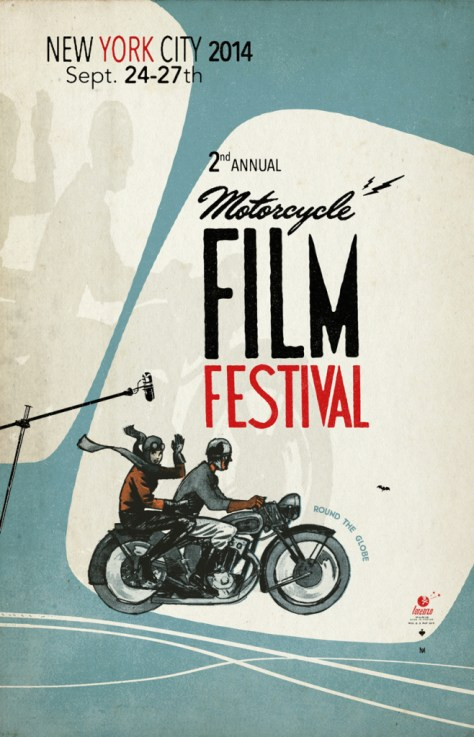 Motorcycle Film Festival 2014 - Poster