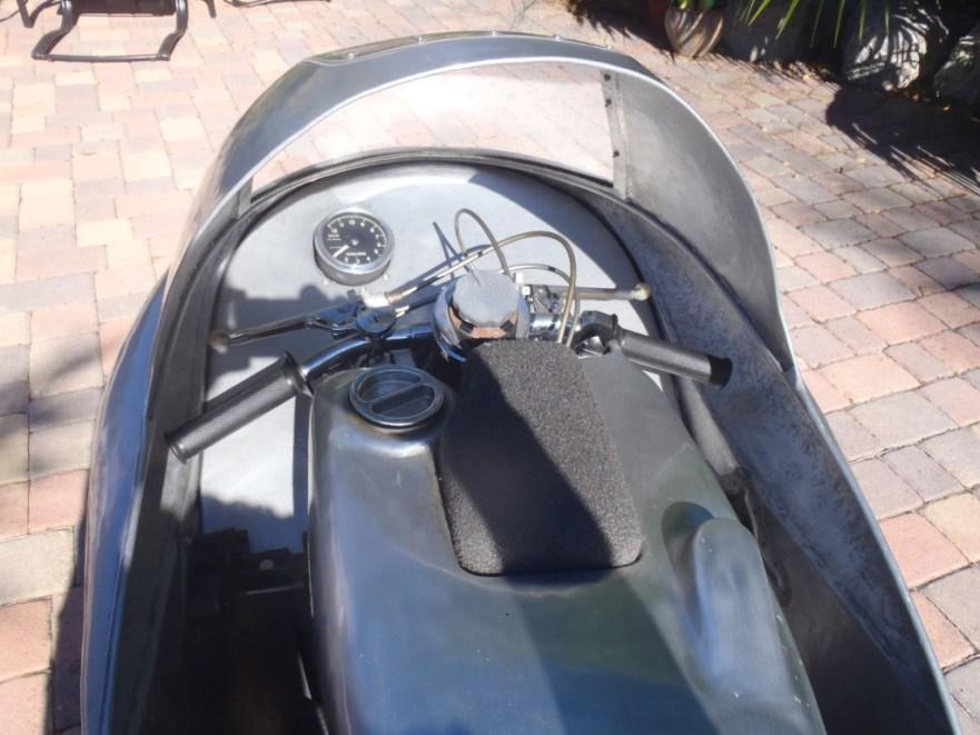 NSU Sportmax - Cockpit