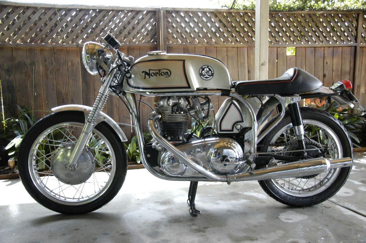 1966 Norton Atlas Cafe Racer Bike Urious