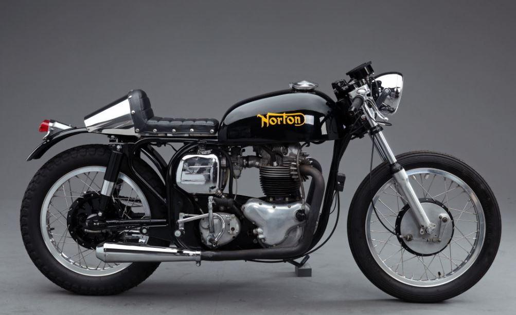 norton atlas cafe racer bike urious