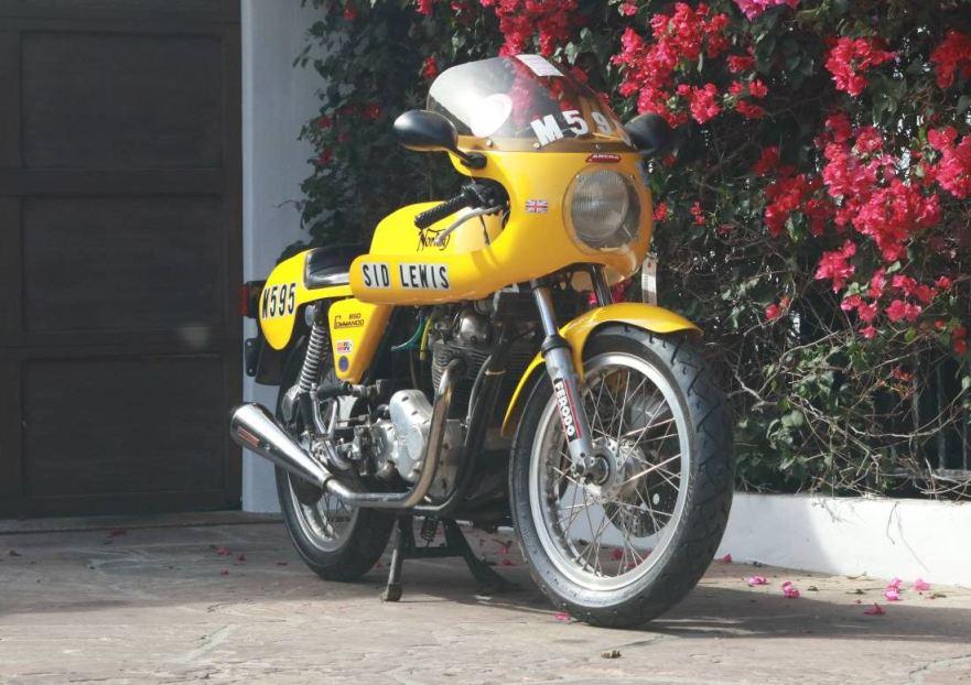 Not From The Long Shop 1975 Norton Commando Production Racer Replica