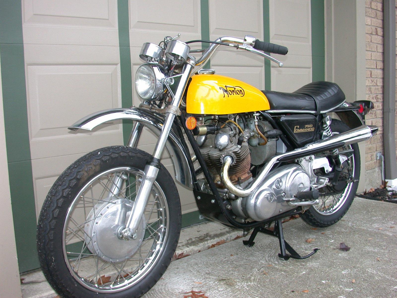Street Scrambler – 1971 Norton Commando SS