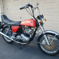 Rare Project with No Reserve - 1974 Norton Hi-Rider