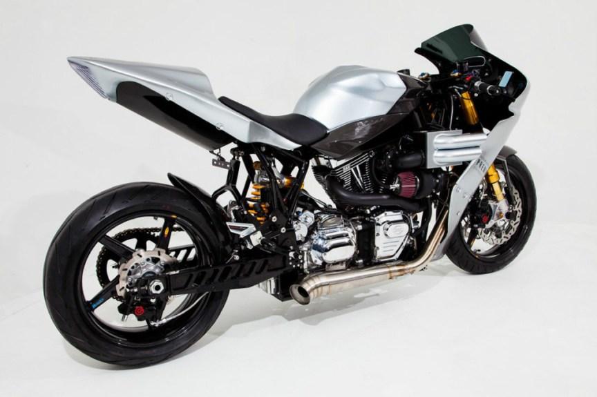 OCC V-Twin Turbo Sportbike - Rear Right