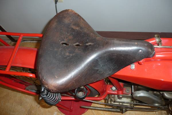 One Year Only - 1916 Indian Model K - Seat