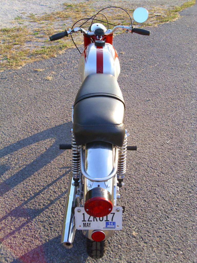 Ossa 250 Sport - Rear