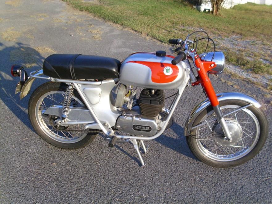 Ossa 250 Sport - Right Side