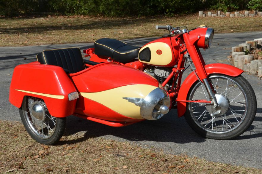 Pannonia Csepel with Sidecar - Right Side