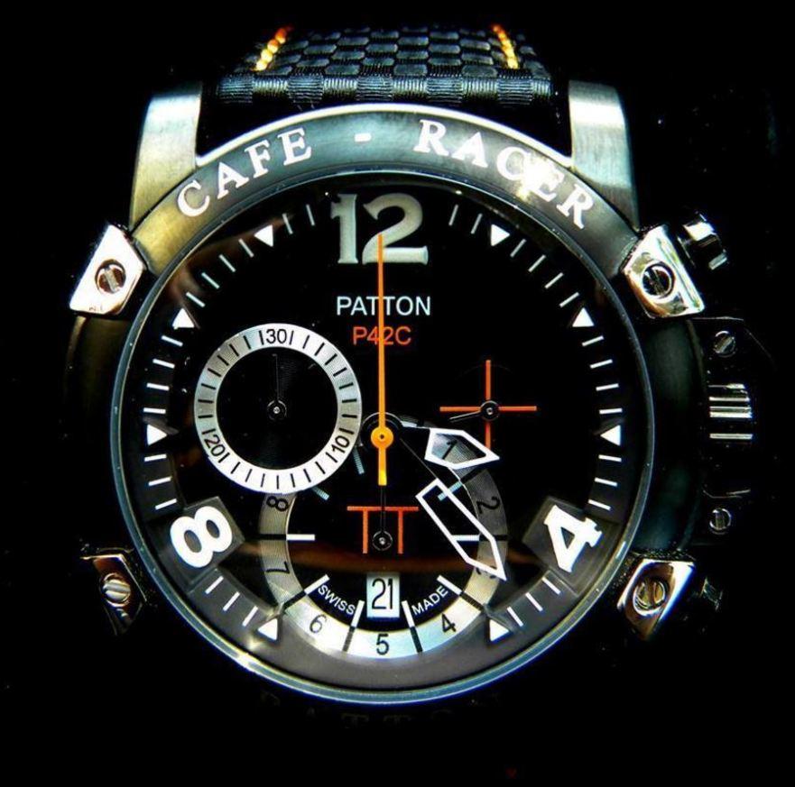 Patton Watch Commission - 1996 Moto Guzzi Sport 1100 - Watch