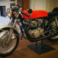 RC162 Inspired - 1973 Honda CB350 Custom