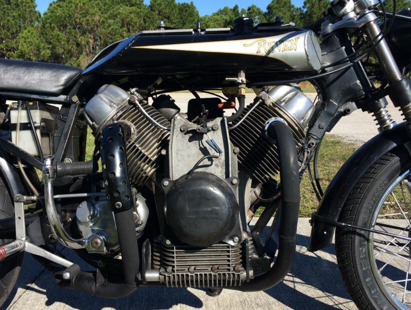 Raven MotoCycle - Engine