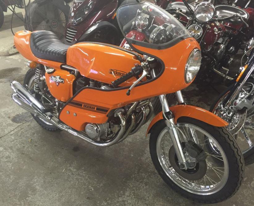 The other orange classic 1975 rickman honda 750 bike urious publicscrutiny Choice Image