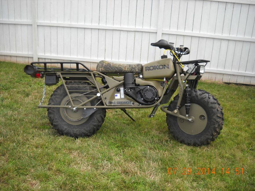 2014 Rokon Trailbreaker   Bike-urious