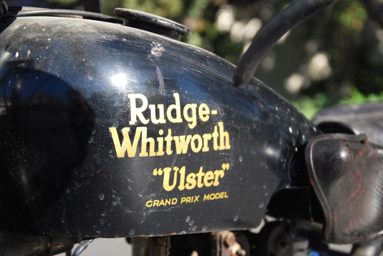 Supposed Factory TT Test Mule – 1930 Rudge Ulster Racer