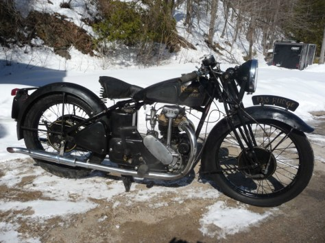 Rudge Ulster - Right Side