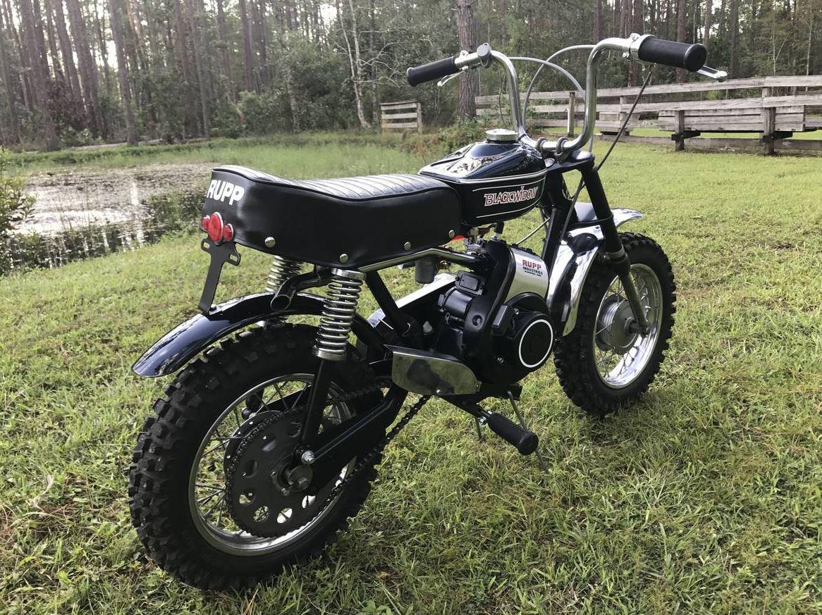 Impressive Clone 1971 Rupp Black Widow Bike Urious