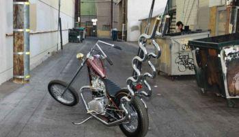 1966 triumph custom chopper | bike-urious