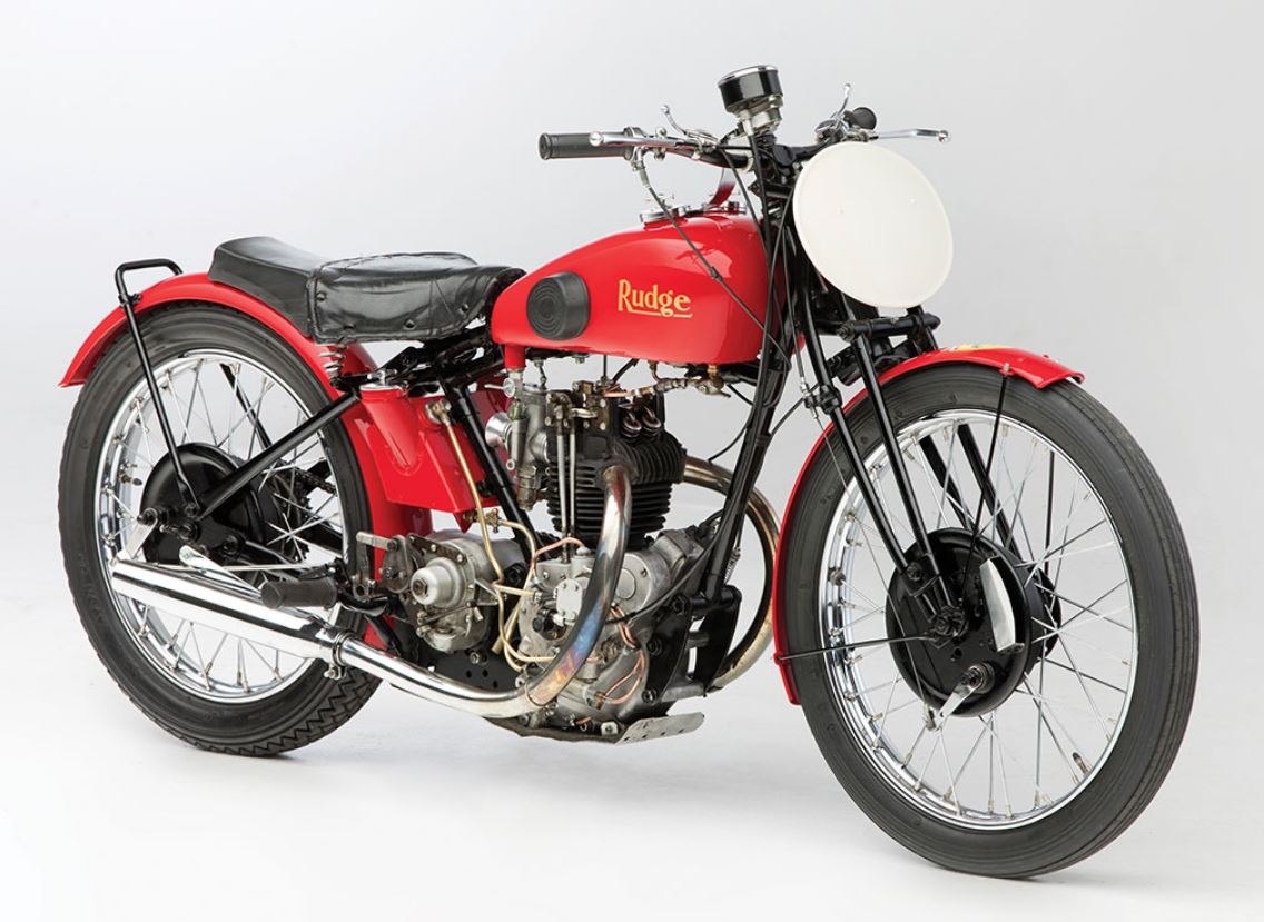 RM Sotheby's in Paris - 1932 Rudge 500 TT
