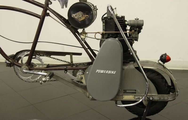 Sears Powerbike - Engine