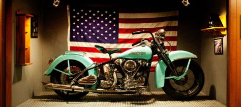 Sons of Anarchy - Harley Knucklehead - Right Side