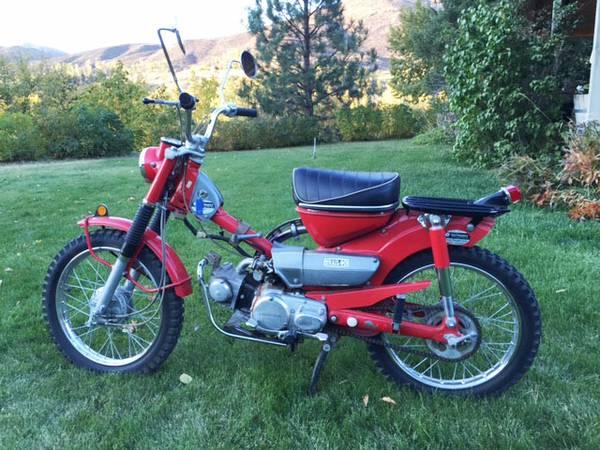 suitcase cycle \u2013 1969 honda ct90 \u2013 bike urioussuitcase cycle \u2013 1969 honda ct90