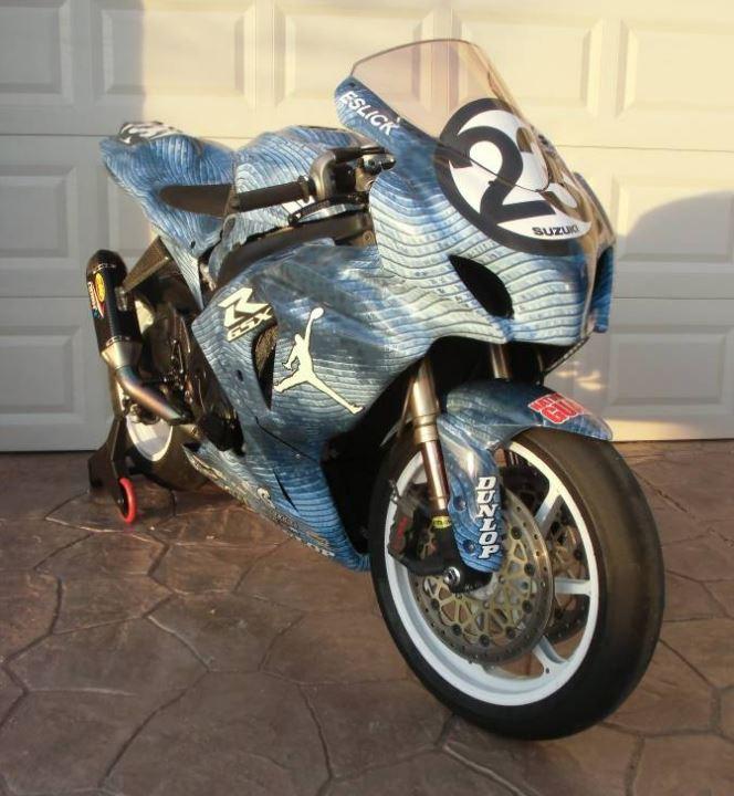 Ex - AMA Superbike Racer - 2013 Suzuki GSX-R1000