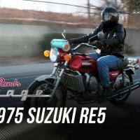 Video Intermission - Suzuki RE-5 on Jay Leno's Garage