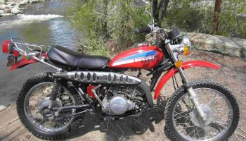 Savage – 1973 Suzuki TS250 – Bike-urious